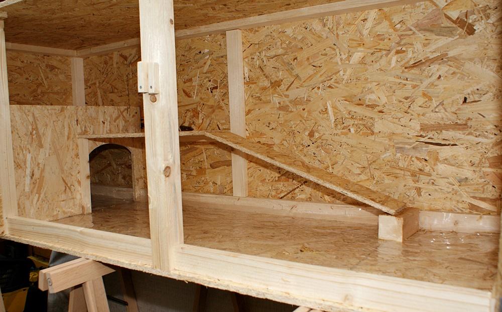 grossraumstall f r kaninchen und meerschweinchen. Black Bedroom Furniture Sets. Home Design Ideas